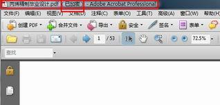 PDF怎样转换成Word