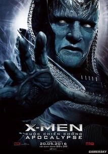 X战警 天启 新海报 终极反派天启登场
