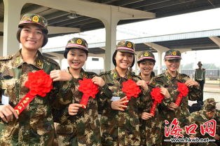 省军区副司令员李谷建,省军区副参谋长陈松德,海口警备区司令