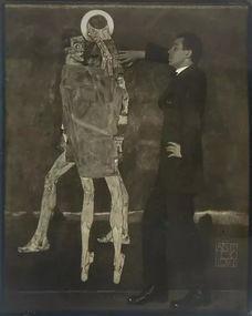 地利画家,师承古斯塔夫・克林姆... 席勒的作品特色是表现力强烈,描...