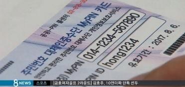 ...罚290万元(视频截图)-韩国泄露他人身份证号最高被罚290万元