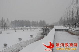 漯河天气-... 瑞雪兆丰年 漯河市迎来2015年首场降雪