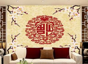 客厅电视沙发背景墙瓷砖背景墙福