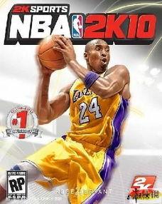 科比当选 NBA 2K10 游戏封面人物