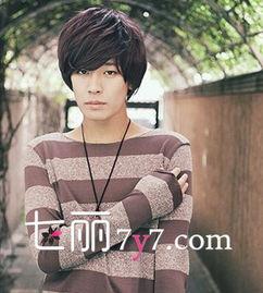 春季男生短发发型设计 韩式刘海发型最帅气