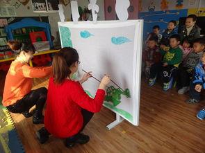 皮影戏走进东营区实验幼儿园
