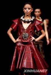...周2009春夏系列发布会上展示运动装流行趋势.新华社记者 -靓丽模...
