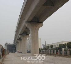 在建上海地铁11号线花桥延伸段 365地产家居网  /摄 -中城花桥国际缘...