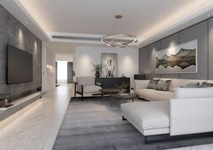 现代高级灰 住宅空间设计
