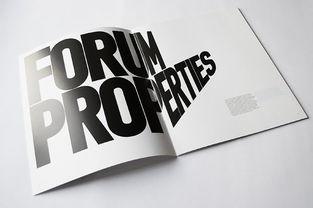 国外优秀画册的排版设计欣赏