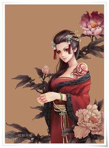 手绘唯美古装女图片 唯美手绘古装美女图唯美手绘古装情侣...-古装写...