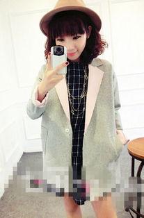 中长款小西装外套穿衣搭配技巧 韩版搭配更优雅