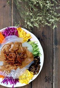 东北五彩麻酱拉皮,家常凉菜的做法,东北麻酱拉皮做法