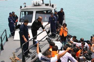 秘鲁救援倾覆渔船 被困中国船员3人生还