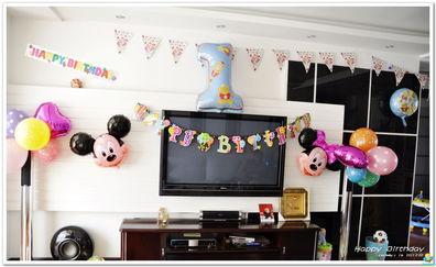 ...唧 酷宝1周岁生日趴 房间布置篇 照片可以看了