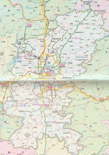 贵阳市辖区区划地图