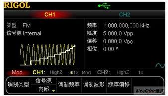 利用任意波形发生器实现复杂类型的频率扫描 模拟技术
