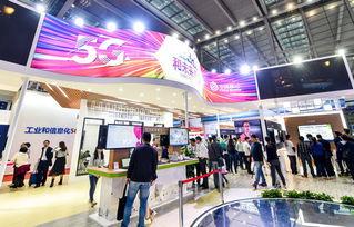 ...9日,参观者在中国移动的展台了解5G信息.    摄 -德媒称中国致力创...