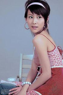 优雅美女的性感写真 贾青