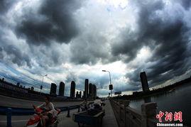 梦中道士b区魅城-7月11日下午,浙江绍兴再遭强对流天气侵袭.大量乌云覆盖在市区上...