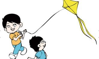 爸爸和我放风筝作文