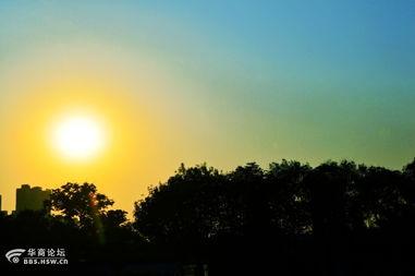 太阳升起ppt动画