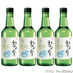 韩国真露烧酒-韩国烧酒起源 韩国烧酒与中国白酒的区别