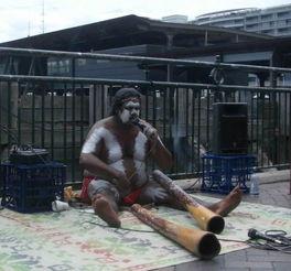 被偷走的一代 澳洲的土著艺人 纪实组图