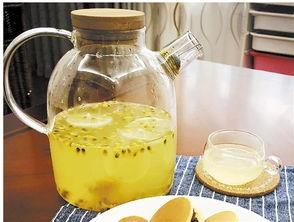 柠檬百香果蜂蜜茶做法