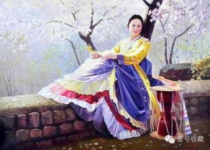 朝鲜油画 未施粉黛,却已倾城