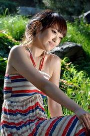 中山公园拍美女