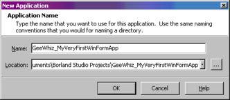 ojects<AppName>   选择OK按钮,打开IDE中的新建项目:   自动生成...
