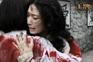 ▲林志玲在电影里饰演女囚角色,饱受折磨还毁容.(图/翻摄自《王牌...