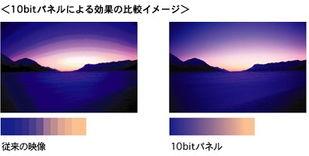 10bit有何不同 索尼40V300A卖场评测