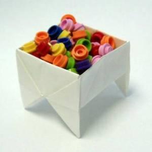 折纸盒与纸盒子的折法手工制作图解教程大全