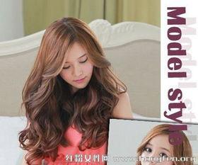 韩国女生流行发型 卷发烫发吸睛