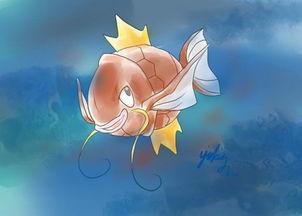 鲤鱼王手绘教程