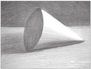 素描圆锥体的绘画步骤 8