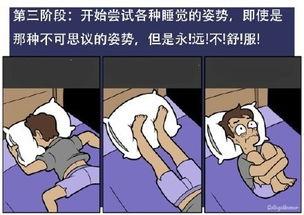 ...失眠的几个阶段搞笑漫画图片带字 今天你失眠了吗