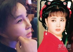 《武则天》少女武媚娘剧照-刘晓庆装嫩20年 整容前后照片露破绽 图