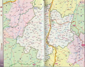 都匀市区划交通地图