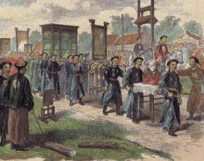 从他开始,清朝皇帝再也没有生出儿子,大婚时仅烧制瓷器就耗资十三万两白银