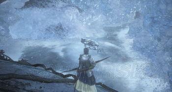 暗魂冰血-到了冰面上就能找到篝火