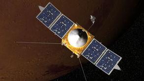 ...火星轨道运行的MAVEN探测器-美国宇航局新一代火星飞船11月发射