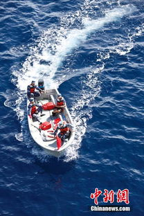 寻找岛航360-...西南海域拉网式搜索