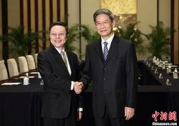 ...国务院台湾事务办公室主任张志军11日下午在南京与来访的台湾方面...