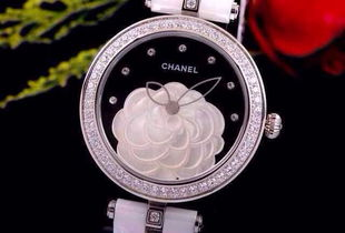 香奈儿 山茶花陶瓷手表 时尚与中国艺术地完美结合