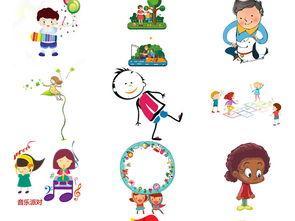拉手读书小朋友卡通儿童小学生开心玩耍1图片素材 模板下载 7.96MB ...