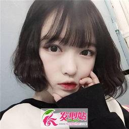 2017中短发发型推荐 流行女生短发发型