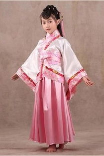 ...唐装女童古装仙女装表演服古代公主古筝汉服影楼写真服装$47.9-齐...